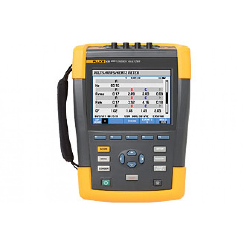 Power Quality Meter : Fluke three phase power quality analyzer meter